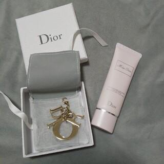 ディオール(Dior)のDior キーホルダー&ハンドクリーム(キーホルダー)