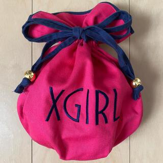 エックスガール(X-girl)のエックスガール  巾着 ポーチ(ポーチ)