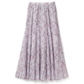 GRL - 新品タグ付き GRL グレイル 花柄プリーツティアードスカート