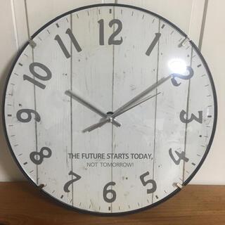 【新品・送料無料】アメリカン  アンティーク 調 壁掛け時計 静かなスイープ秒針(掛時計/柱時計)