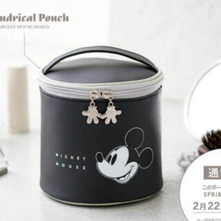 Disney - ミッキーの筒型ポーチ