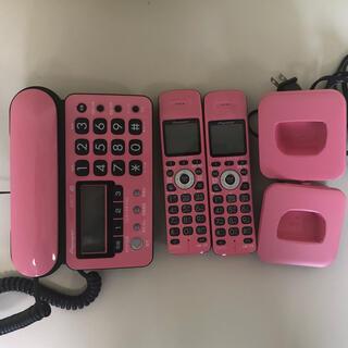 Pioneer - パイオニア DECTコードレス留守番電話 TF-SD10W-PK 【箱なし】