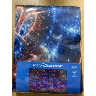 Disney - ディズニー カーテン ミッキー ミニー 花火