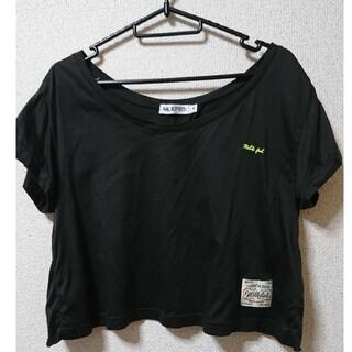 ミルクフェド(MILKFED.)のMILKFED ミルクフェド Tシャツ カットソー Mサイズ(S)(Tシャツ(半袖/袖なし))