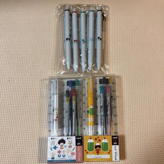 三菱鉛筆 - mizutama コラボ ロフト限定 スタイルフィット 4色ホルダー 5色セット