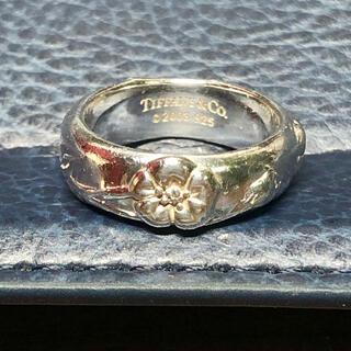 Tiffany & Co. - Tiffanyフラワーリング シルバー925