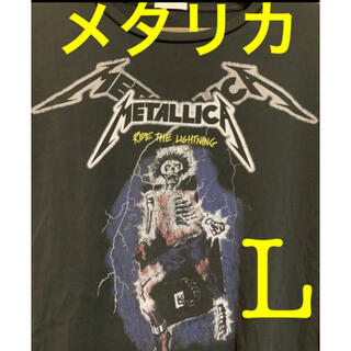 GU - メタリカ Tシャツ L 黒 ロックTシャツ バンドTシャツ 美品 69