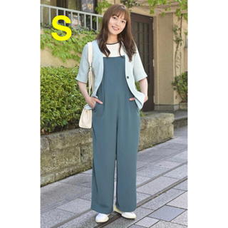 AZUL by moussy - 川口春奈さん着用✨『着飾る恋』moussy ストリング サロペット Sサイズ