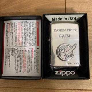 ジッポー(ZIPPO)の限定250個ZIPPO 仮面ライダー鎧武 GAIM ガイム 佐野岳 立体メタル (その他)