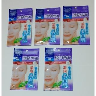 コーセーコスメポート(KOSE COSMEPORT)のKOSE クリアターンホワイトマスク トラネキサム酸 5枚(パック/フェイスマスク)