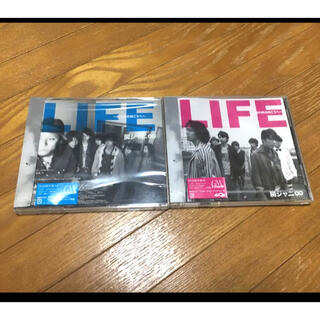 カンジャニエイト(関ジャニ∞)の初回限定盤CD2枚 LIFE~目の前の向こうへ~ 関ジャニ∞(ポップス/ロック(邦楽))
