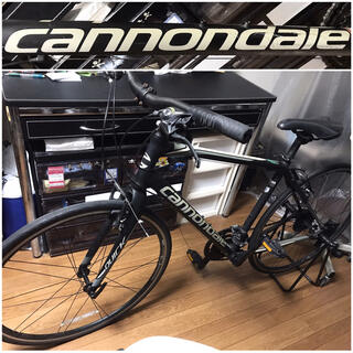 キャノンデール(Cannondale)のcannondaleキャノンデールQUICK4アルミ+カーボン自転車クロスバイク(自転車本体)