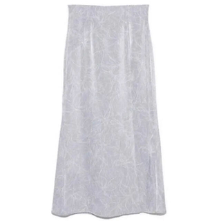 snidel - snidel スナイデル ラインフラワーナロースカート