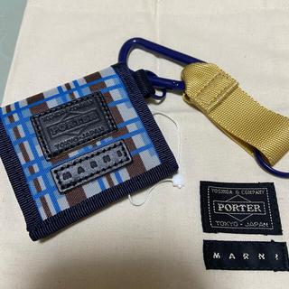 Marni - MARNI×PORTER マルニ×ポーター COIN CASE X ミニ財布