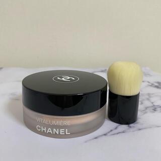 シャネル(CHANEL)のCHANEL シャネル ヴィタルミエール ルースパウダー ファンデーション 12(ファンデーション)