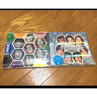 カンジャニエイト(関ジャニ∞)の初回限定盤と通常盤CD2枚セットワッハッハー 関ジャニ∞(ポップス/ロック(邦楽))