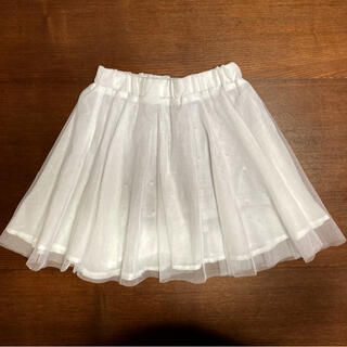 ライトオン(Right-on)のチュールスカート☆パンツ付き 130(スカート)