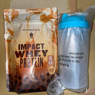 マイプロテイン(MYPROTEIN)の新品、未開封 マイプロテイン インパクトホエイ黒糖ミルクティー250g(プロテイン)