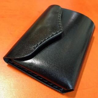 総手縫い コンパクトウォレット ミニ財布 ミニマル財布 ミニマム財布 小さな財布