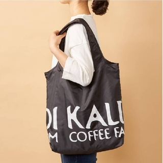 KALDI - KALDI エコバッグ 黒 1点