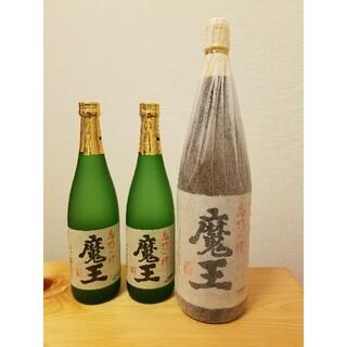 魔王 幻の芋焼酎 空瓶1.8m 2本 空瓶720ml 5本(焼酎)