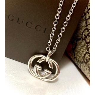 グッチ(Gucci)のGUCCI/グッチ インターロッキングG/ダブルG/大きいタイプ ネックレス(ネックレス)