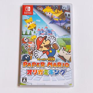 Nintendo Switch - ペーパーマリオ オリガミキング 美品! ニンテンドー スイッチ Switch