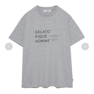 gelato pique - ジェラートピケ HOMME オーガニックコットンロゴTシャツ 新品 未使用