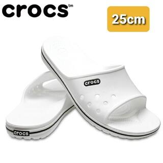 crocs - 【新品・タグ付き】クロックス シャワーサンダル 25cm