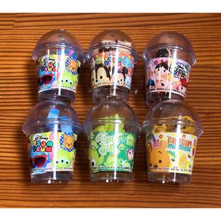 Disney - ディズニー ツムツム ボトル入り 消しゴム 6個セット 雑貨 キャラ消しゴム