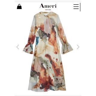 Ameri VINTAGE - AMERI UNDRESSED AMELIA INK ART DRESS