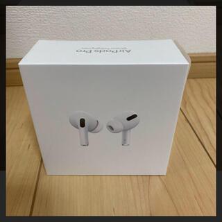 アップル(Apple)の【新品未開封】APPLE AirPods Pro MWP22J/A(ヘッドフォン/イヤフォン)