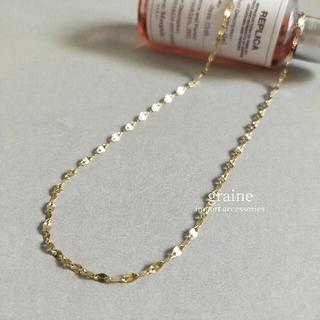 LOWRYS FARM - 【再入荷】eclair necklace * gold