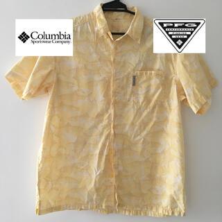 Columbia - コロンビア/PFG/半袖シャツ/黄色/中古/サイズL
