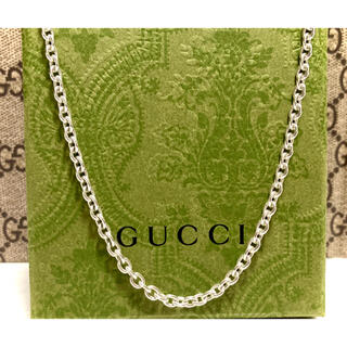 グッチ(Gucci)の正規品 GUCCI/グッチ あずきチェーンネックレス Ag925/シルバー925(ネックレス)
