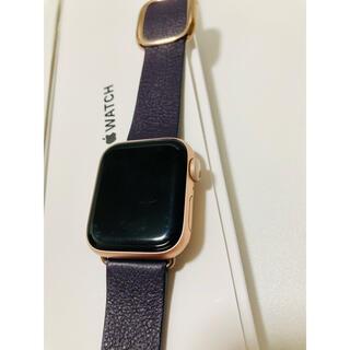 Apple Watch - Apple watch series 5 ゴールド 40mm