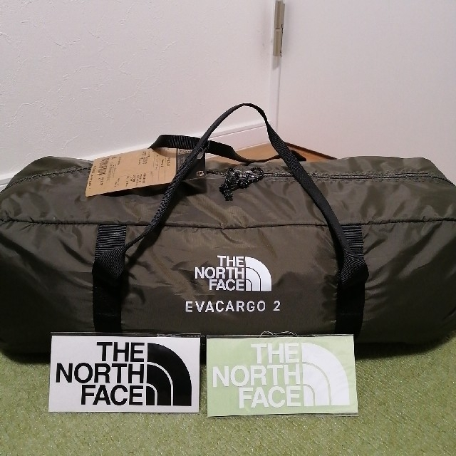 【おまけ付】the north face Evacargo2 エバカーゴ2 スポーツ/アウトドアのアウトドア(テント/タープ)の商品写真