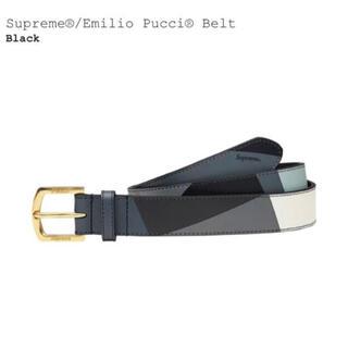 シュプリーム(Supreme)のS/Mサイズ Supreme Emilio Pucci Belt Black (ベルト)