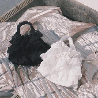 メリージェニー(merry jenny)のmerry jenny 8th anniv. lace frill bag(ハンドバッグ)