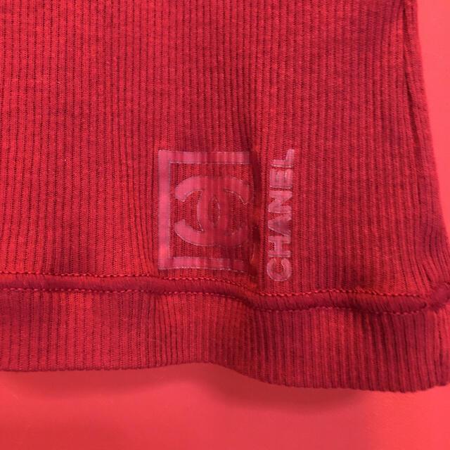 CHANEL(シャネル)の激レア 未使用 ヴィンテージ CHANEL タンクトップ  サイズ34 レディースのトップス(タンクトップ)の商品写真