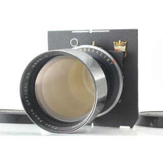 ジャンク FUJIFILM フジ 大判レンズ T 400mm f/8 (フィルムカメラ)