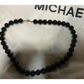 オニキス 数珠 ネックレス