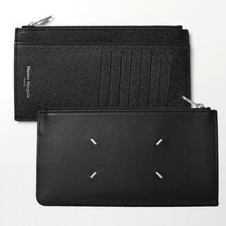 マルタンマルジェラ(Maison Martin Margiela)の新品 メゾンマルジェラ カードケース カードホルダー 財布 コインケース 黒(コインケース/小銭入れ)