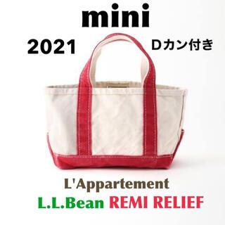 L'Appartement DEUXIEME CLASSE - 【L.L.Bean】 Canvas Mini Tote Bag レッド