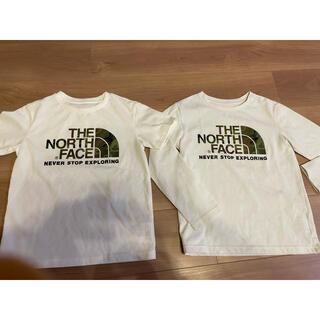 THE NORTH FACE - 週末限定最終値下 美品 ノースフェイス Tシャツ ロンT 2枚