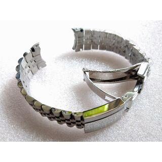 ロレックス(ROLEX)の新品 腕時計 ジュビリーベルト ロレックス対応 シルバー 社外品(金属ベルト)