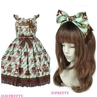 Angelic Pretty - Bear's Chocolaterie ジャンパースカート セット