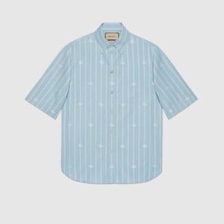 グッチ(Gucci)のサイズ16+ 極美品 グッチ ストライプ シャツ(シャツ)