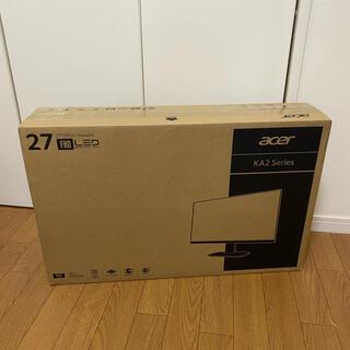 Acer - AcerディスプレイKA272Abmiix27型ワイドVA非光沢フルHD 1ms