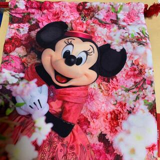 ディズニー(Disney)のイマジニングザマジック ミニー巾着(キャラクターグッズ)